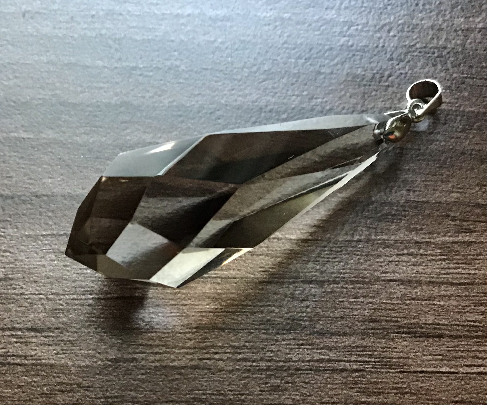 Smoky Quartz Crystal Pendulum