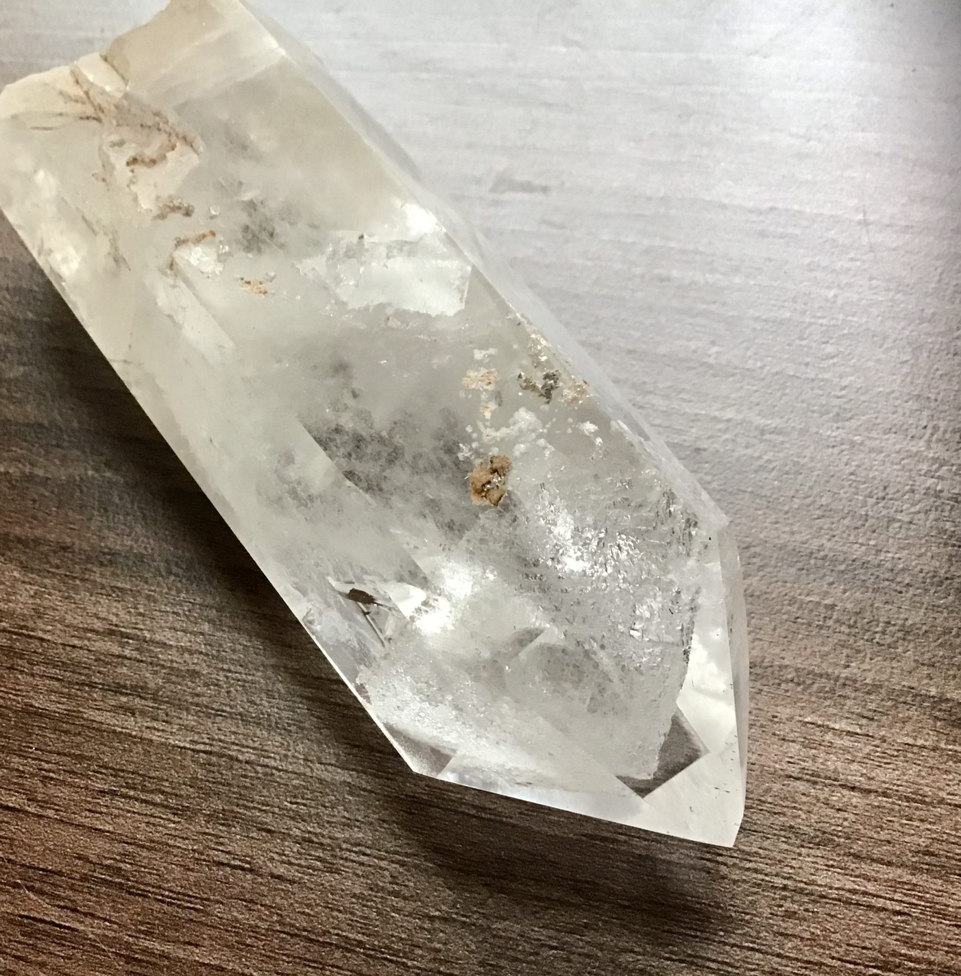 Mountain Quartz Crystal/White,Orange Phantoms
