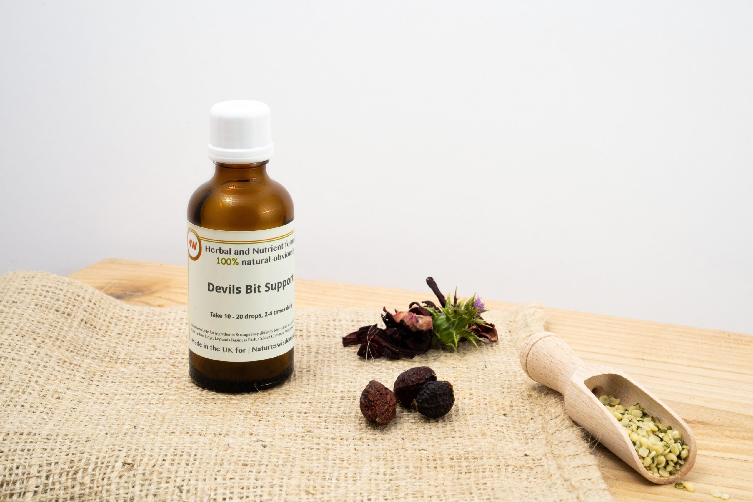 Devils Bit Herbal Support Tincture