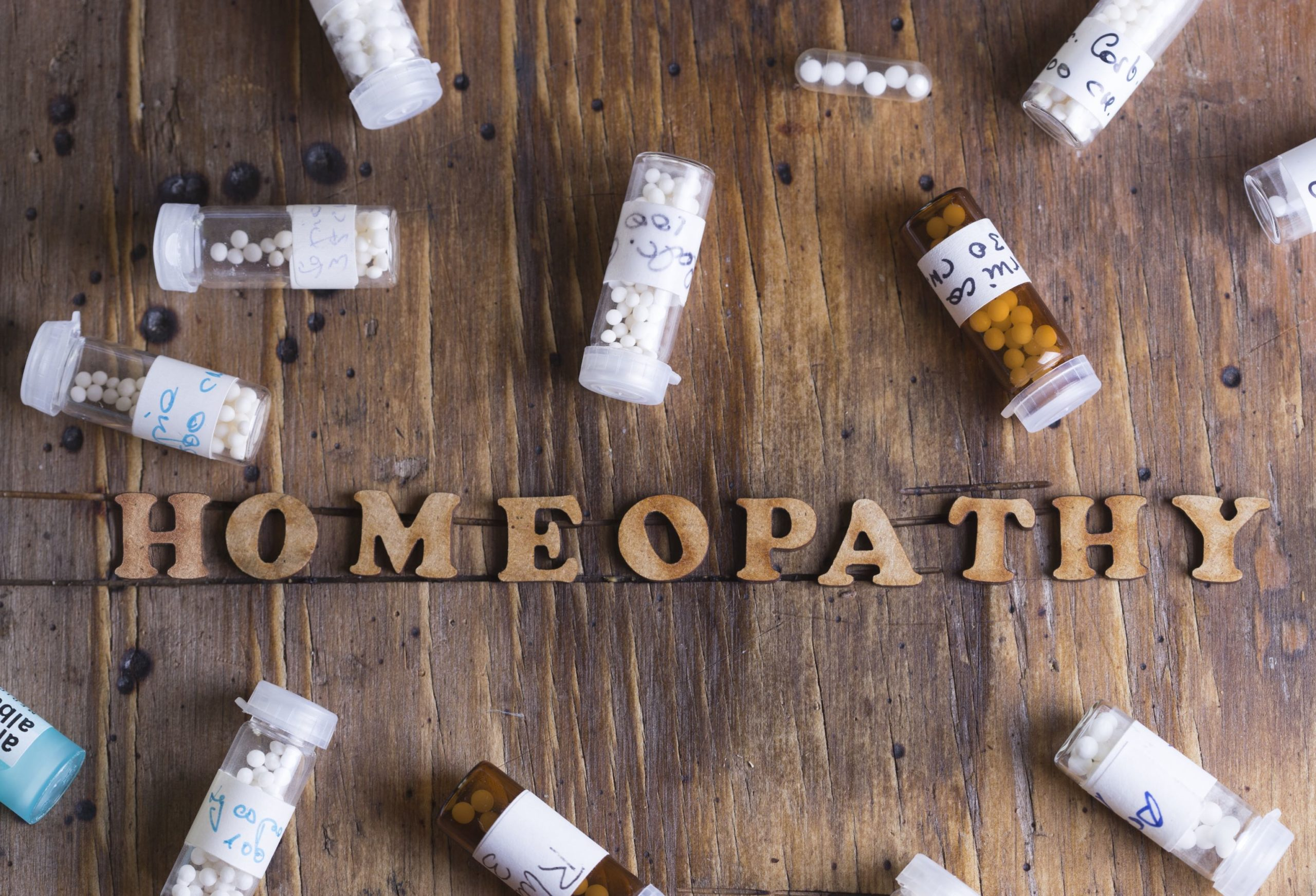 Homeopathic Remedy – five pots